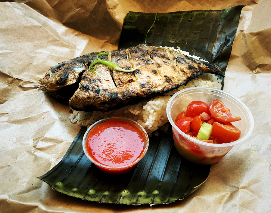The whole grilled Pompano via Amboy. #wholegrilledpompanoforlife Photo by: Dana Benoit