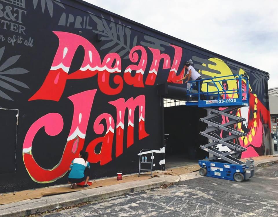 Mural for Pearl Jam