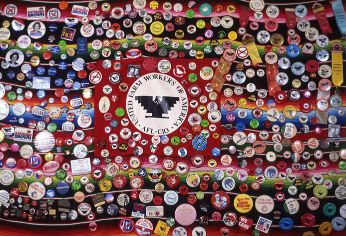 """HELEN CHAVEZ BUTTON COLLECTION ""1995 - Emilio Mercado"