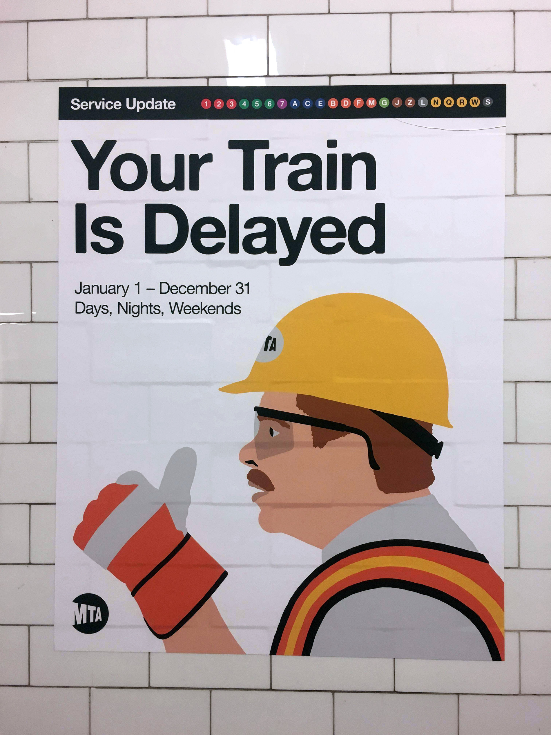 YourTrainIsDelayed