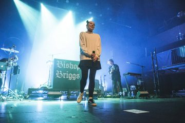 Bishop Briggs performing at the Fonda