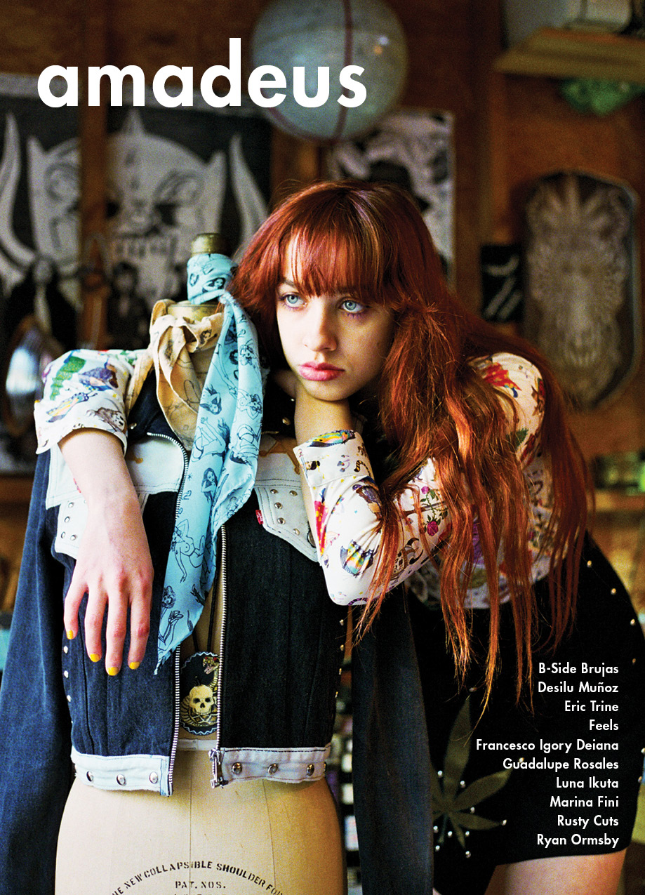 A photo of Amadeus Magazine's issue 14 cover.