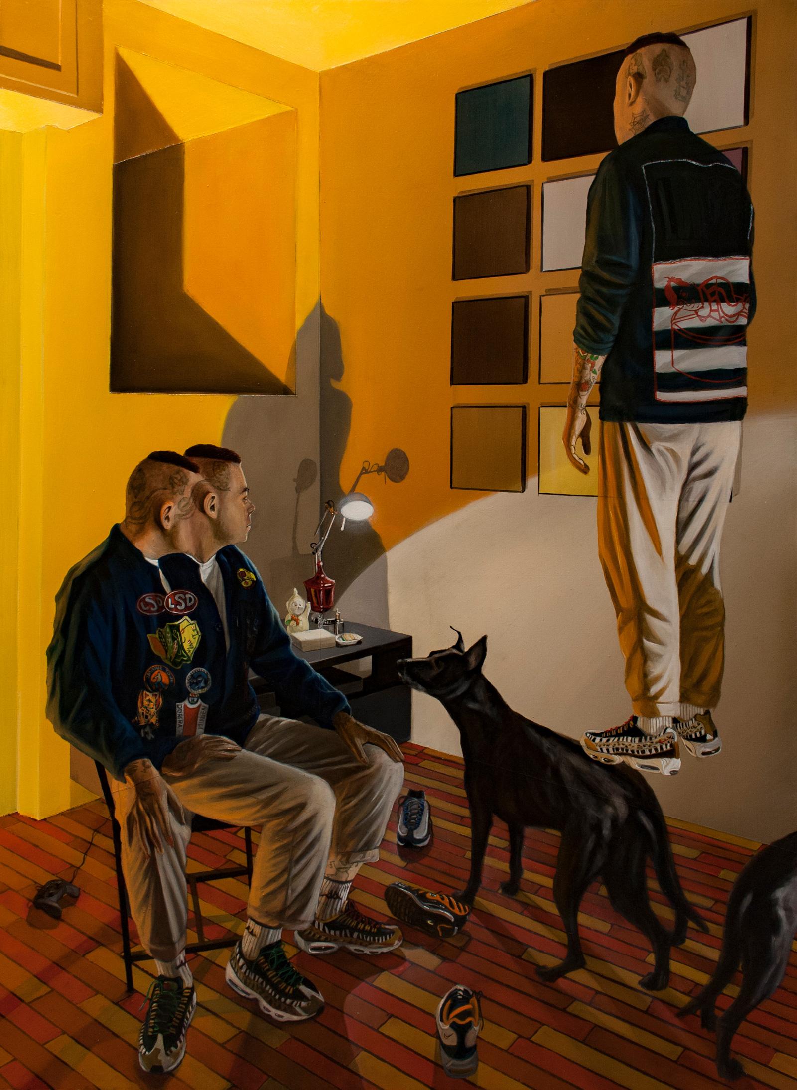 Dario-Maglionico,-Reificazione-#58,-oil-on-canvas,-95-x-70-cm,-2019