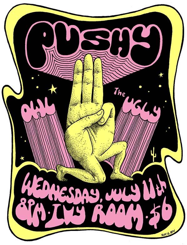 Roy G Biv poster artwork