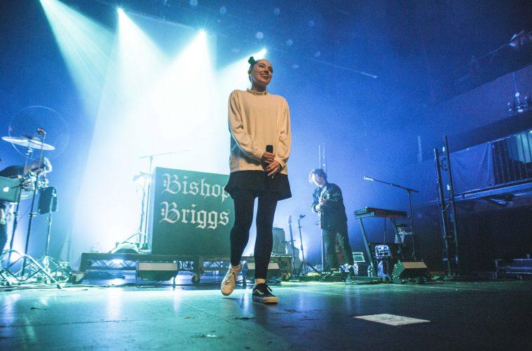Bishop Briggs performing at the Fonda